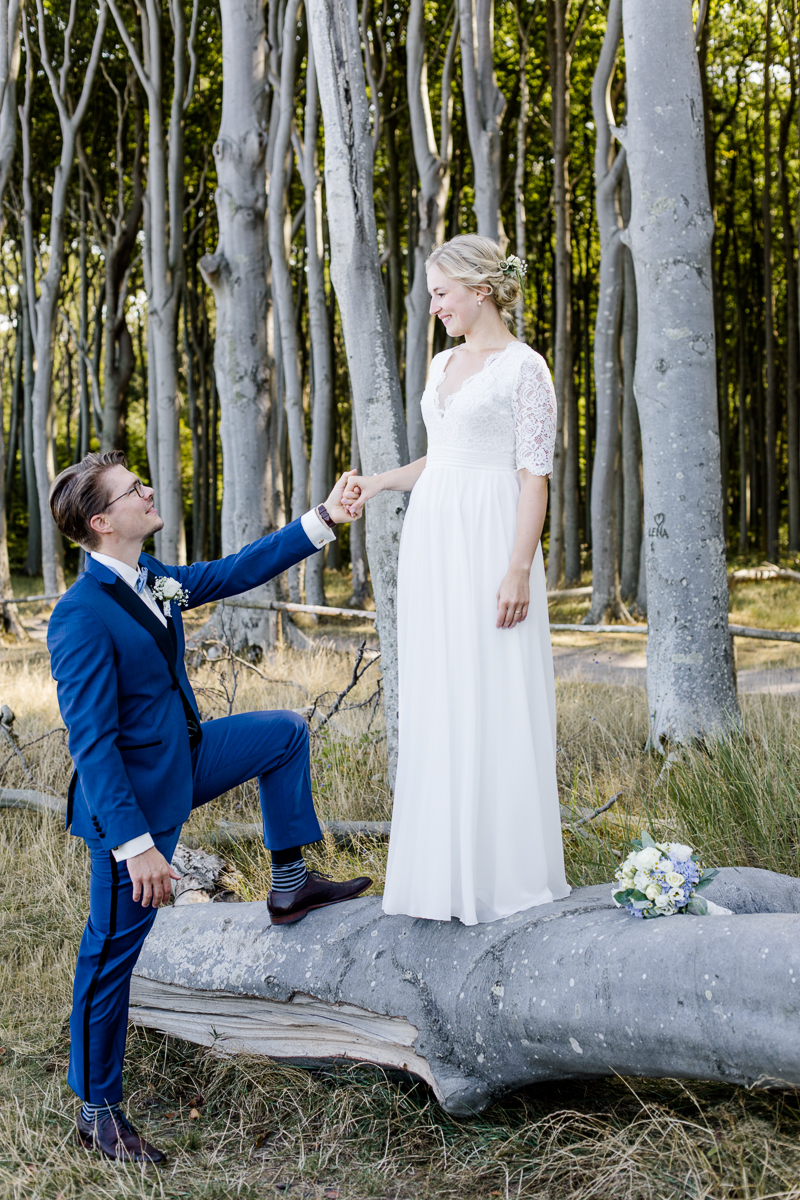 Captured in 2018 on Sep02 at Rostock Gespensterwald und Warnemuende at Hochzeit Friederike und Nils by Laura Kiessling Photography