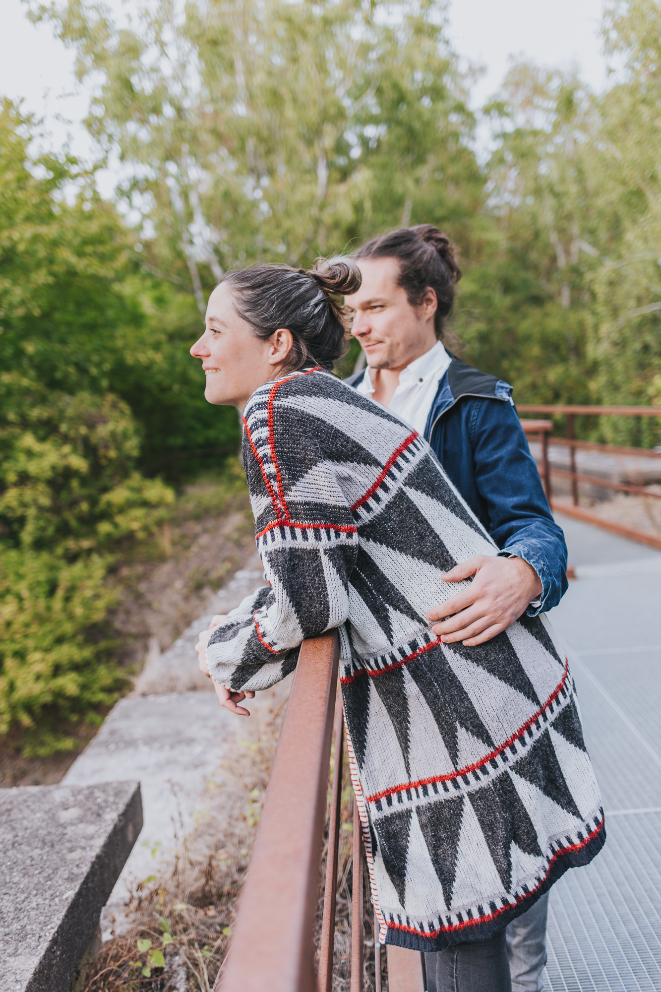 Captured in 2018 on Sep 26 at Schöneberger Südgelände at Babybauch Steph und Daniel  by Laura Kiessling Photography